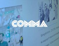 Comma.com.ua / Website