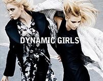 Dynamic Girls for LE MILE Magazine