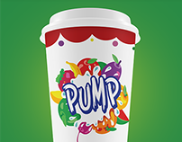 PUMP IT UP! Branding