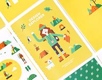Design Explorer - Infographic & Illustration about me