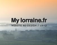 MyLorraine - CRL Social Website (UX/UI)