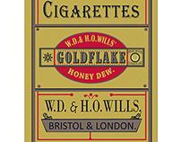 1800's gold flake