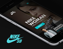 Nike SB - Responsive Design Concept