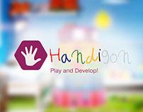 Handigon | Fine motor skills development toy
