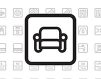 UKFD Flooring Icon Pack