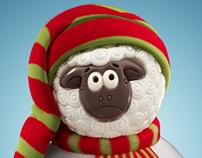 3D chocolate sheep v2
