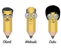 Hommage aux dessinateurs de Charlie Hebdo