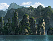 """Mattepaintings for """"The Jungle"""" movie"""