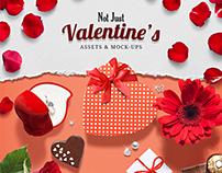 Love / Valentine's Day Scene Creator PSD