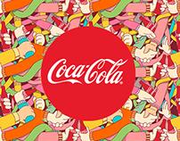 Pattern Design for Coca Cola