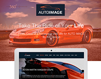 UI Design and HTML and CSS coding Sports Car Website.