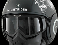 'NIGHTRIDER' Collaboration with SHARK Helmets