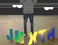 Juxta-Posing Typographic Installation
