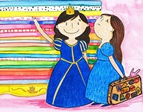A Real Princess - Illustration