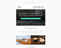 Dop, Modern Email Template + Online Editor Access