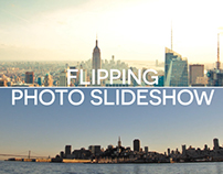 Flipping Photo Slideshow - After Effects Template