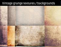 Vintage grunge textures high resolution backgrounds
