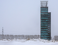 Khimki business park. Moscow