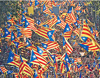Colombians who support an independent Catalonia