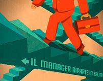Illustrazione // Uomo&Manager #21