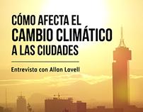 ¿Cómo afecta el cambio climático a las ciudades?