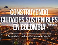 Construyendo ciudades sostenibles en Colombia