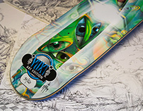 YUX Skateboards Art Edition