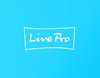 Identity design for LivePro
