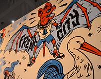ZONE 51 x Mural