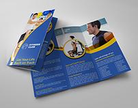 Fitness - GYM Tri-Fold Template Vol.3