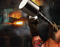 Industrial Lighting Full Page Ad