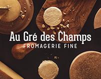 Au Gré des Champs, fromagerie