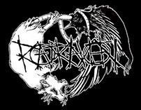 RatRaven (Band logo illustration)