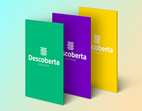 Descoberta Editora | Rebrand concept