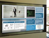 Briefing Center Digital Display Network