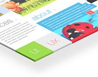 Website Design Option 01