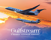 Gulfstream Aerospace Advertising