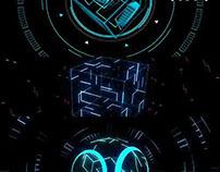 Hologram Pulse - VJ Loop Pack (4in1)