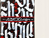 23E x LEGZ (Custom Skateboard)