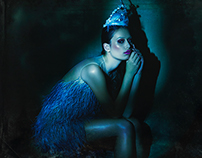 Beaming Blue for Neverland Magazine 6th Issue