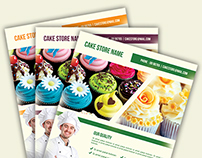 Cake Store Flyer