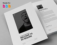 Minimal Resume / CV / Curriculum Vitae / 12 Pages