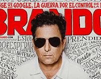 BRANDO Mag – Cover Illustration
