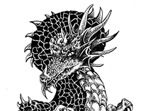 Dragon Serpent Tattoo