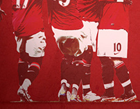 Manchester United - Christmas Poster