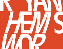 Ryan Hemsworth – Poster