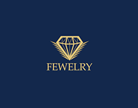 "Jewelry ""FEWELRY"" (Logo & Product Photography)"