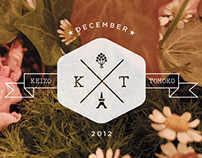 "Wedding Logo ""K & T"""