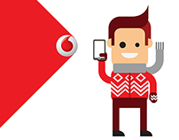 VODAFONE INFOGRAPHICS & CHARACTER DESIGN