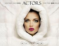 ACTORS leather/fur website